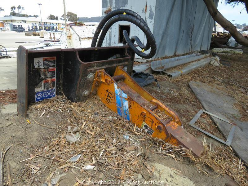 Excavator Buckets, Trench Plates, and Conduit