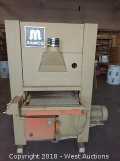 "Ramco 25"" Wide Belt Sander"