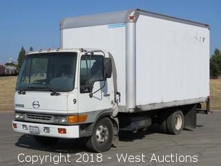 1998 Hino 14' Diesel Box Truck
