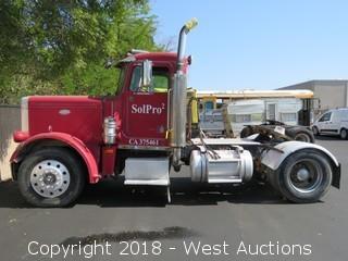 1979 Peterbilt Diesel Tractor Truck Trailer