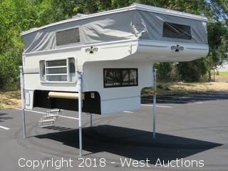 2001 14' Phoenix Sasquatch Pop-Up Cabover Camper