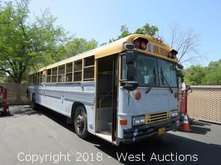 1995 40' Blue Bird School Bus
