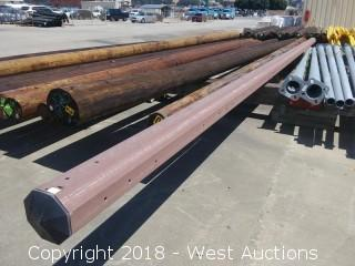 50' Fiberglass Utility Pole
