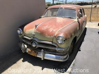 1950's Model Ford Four Door