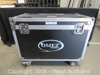 "Omez 32"" X 17"" Portable Road Case"