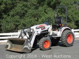 2007 Bobcat CT120 4X4 Front Loader Tractor
