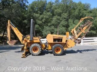 Case DH4 Articulated Trencher Backhoe