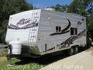 2008 Eclipse Attitude 21' Toy Hauler Travel Trailer