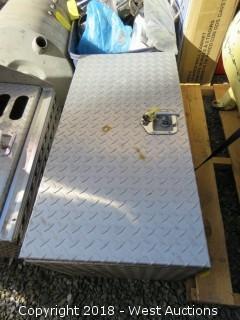 """Diamond Plate Storage Box 36"""" X 18"""" X 22"""""""
