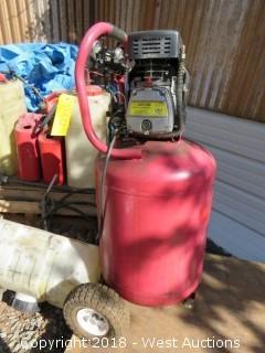 Power System Plus 24 Gallon Portable Air Compressor