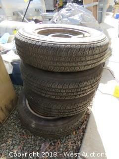 (4) All Season Radial Tires