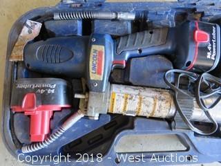 Lincoln Powerlube 1400 14.4V Grease Gun Kit