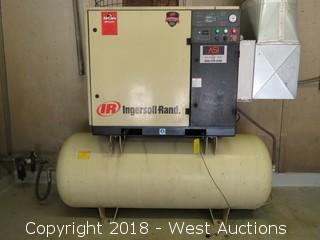 Ingersoll Rand Rotary Screw 240 Gallon Air Compressor