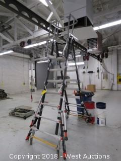 Little Giant 18509 Aerial Safety Cage Ladder System