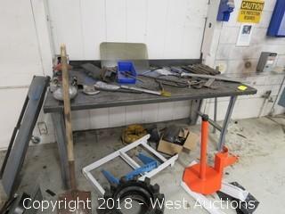 6'x3'x3' Steel Table