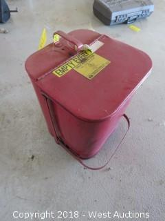 Oil Waste Can