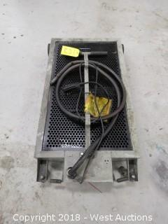 Roughneck 15 Gal. Oil Drain Dolly with 110 Volt Pump