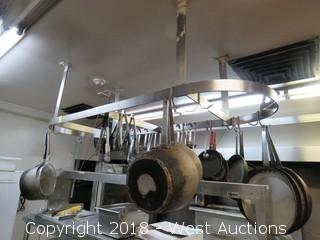 Stainless Steel Pots and Pans 6' x 2'