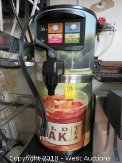 Gold Peak Tea Automated Dispensing Unit