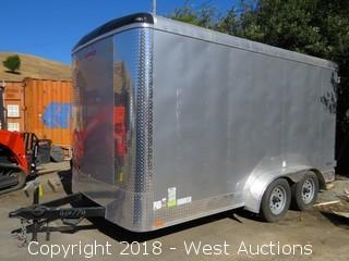 2018 Forest River Enclosed Cargo Trailer 15'x7'x7'