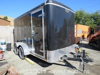 2017 13'x6'x6' Forest River Enclosed Utility Trailer
