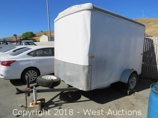 2005 Carry-On Enclosed Utility Trailer 10' x 6'