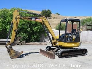 Caterpillar 305 CR Mini Hydraulic Excavator