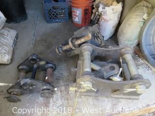 (3) Excavator Mounting Brackets