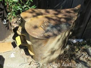 """22"""" Tag Excavator Bucket"""
