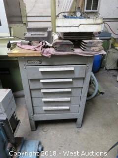 Kennedy Machinist Storage Cabinet with Work Surface