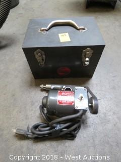 Dumore Tool Post Grinder with Carry Case