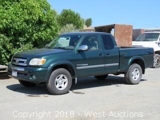 2003 Toyota Tundra 4x4 Pickup