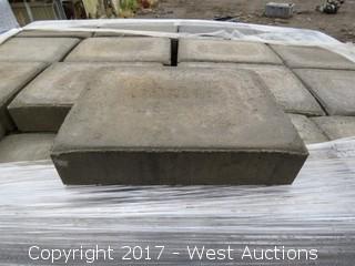 (1) Pallet - 60 mm Pavers - Cobble Stone Giant - Shasta Blend