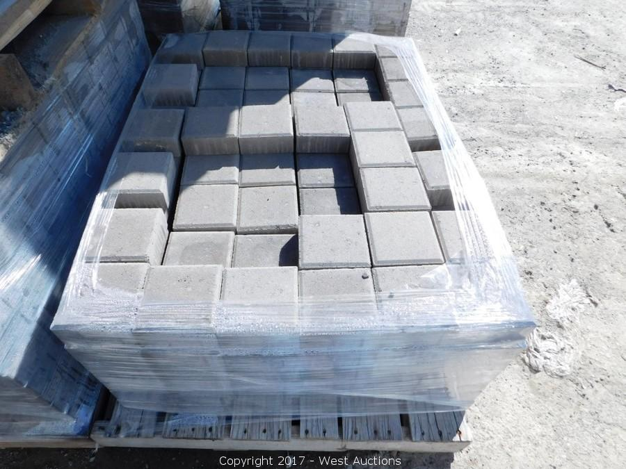 Final Auction #1 of Patio Pavers, Retaining Walls, and Masonry Blocks in Dixon, CA