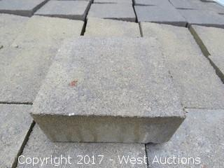 Lot #0104 1 Pallet   60 Mm Pavers   Century Stone Square   Mojave Blend