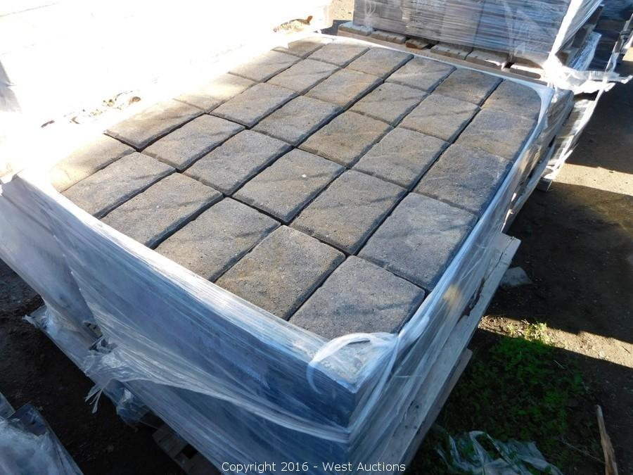 Final Auction #2 of Patio Pavers, Retaining Walls, and Masonry Blocks in Dixon, CA
