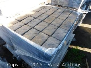 1 Pallet of  Carriage Stone - Rectangle - Monterey Blend