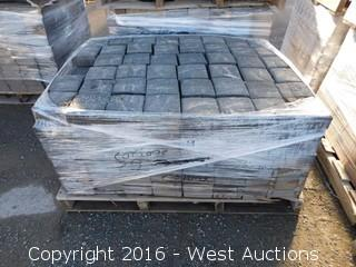 (1) Pallet of  Carriage Stone - Square - Monterey Blend