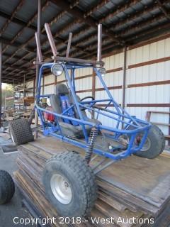 Single-Seat Go Cart
