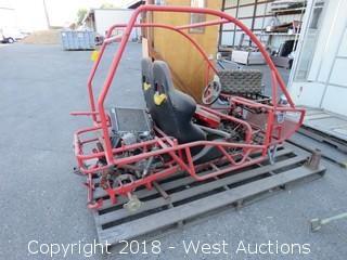2-Seat Go Cart Frame