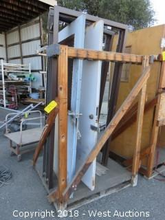 (2) Metal Doors and Frames