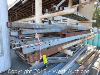 Assorted Lengths/Styles of Steel Stock (stock only)
