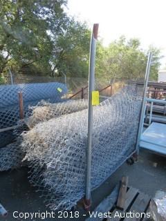 (6) Rolls of Cyclone Fencing