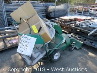 Billy Goat PB80 Lawn Vacuum