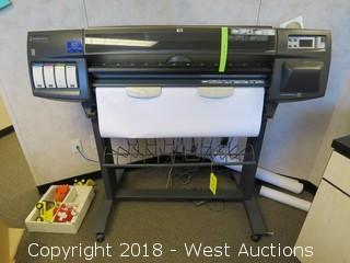 HP Designjet 1050c Plus Wide Format Plotter
