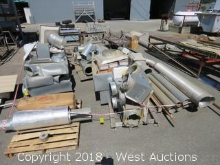 (6) Pallets of Ducting
