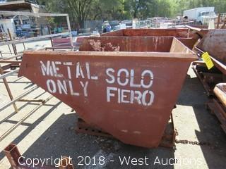 4.5 Wide Forklift Dump Bin
