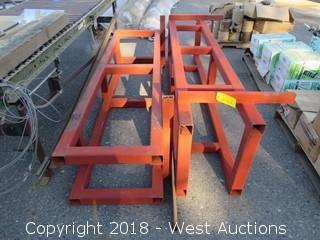 (2) 8' Long Steel Frames