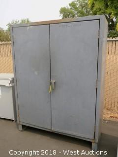 Durham Mfg. Lockable Steel Storage Cabinet