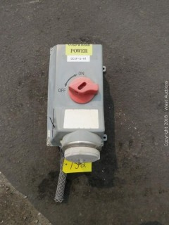 ASR Powertite Mechanical Interlock Receptacle